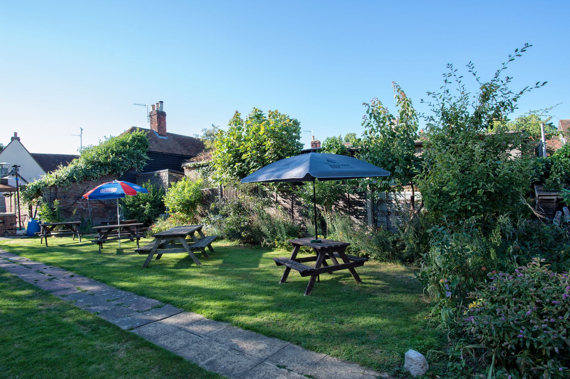 The Bull Inn Faversham Beer Garden